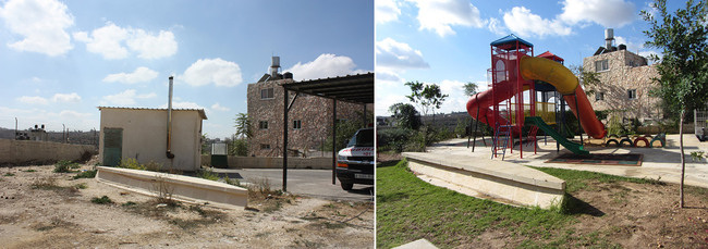 Revitalization of Birzeit Historic Center: Children's playground. Photo: AKAA / RIWAQ