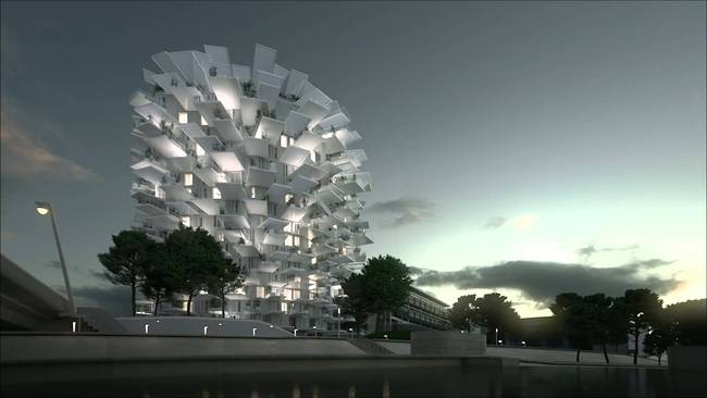 """L'Arbe Blanc"" by Sou Fujimoto Architects courtesy YouTube"