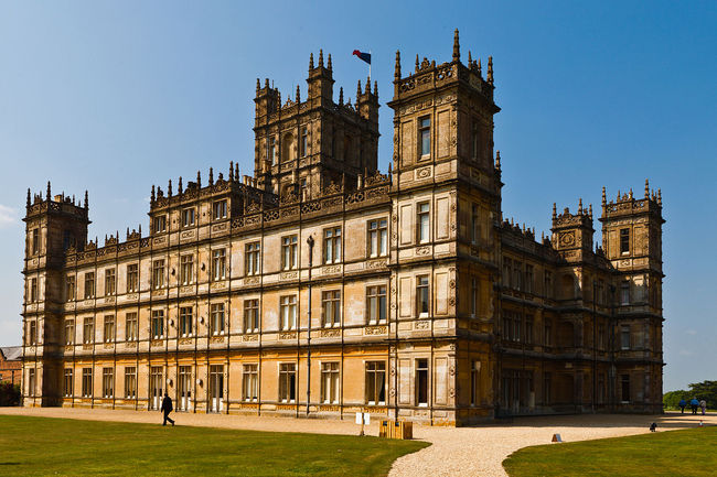 "Highclere Castle in Hampshire, also known as ""Downton Abbey"" in the praised period drama of the same name, is itself in dire need of major repair. The new-found fame provides a constant stream of paying visitors to this particular estate, but countless other castles and manors throughout the English countryside aren't so lucky. (Photo: Richard Munckton/Wikipedia)"