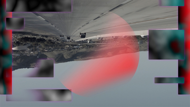 Metahaven: The Sprawl (Propaganda About Propaganda), HD video still 2015, courtesy of Lighthouse and The Space