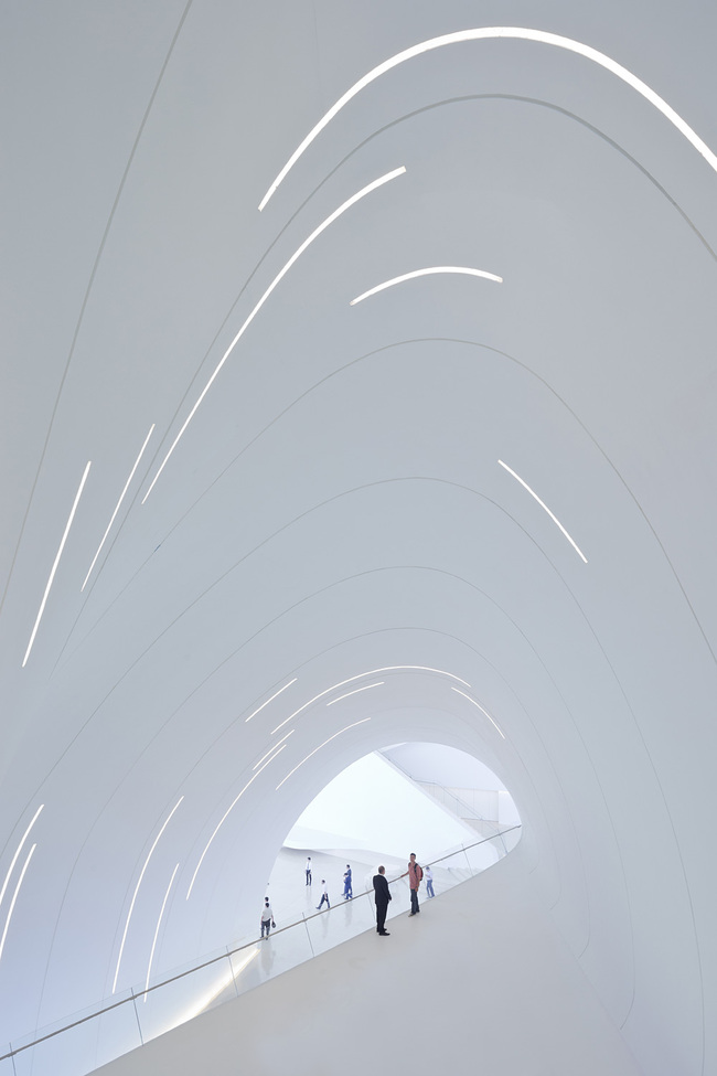 Heydar Aliyev Center, Baku by Zaha Hadid Architects. Photo: Iwan Baan.
