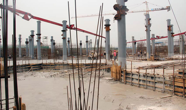 Construction photo (Image: HAO / Holm Architecture Office + Archiland Beijing)