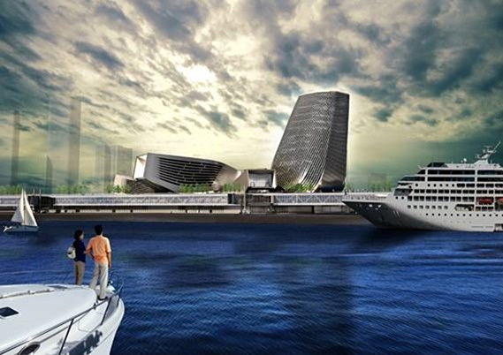 Kaohsiung Port Terminal by Reiser + Umemoto in Kaohsiung, Taiwan.