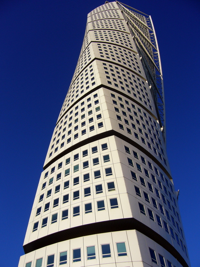 Santiago Calatrava's Turning Torso (via Wikipedia).