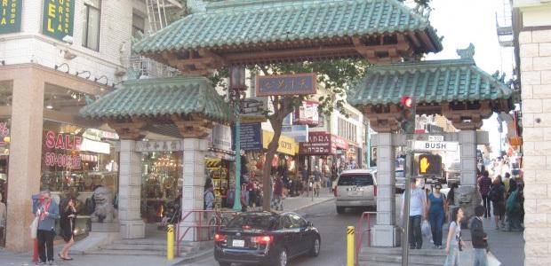 The Gate to San Francsico's Chinatown on Grant Avenue at Bush Street. (Photo: Jason Margolis)