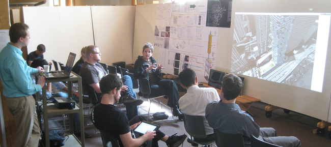 Design Thesis Reviews, Master of Architecture Program, University of Nebraska - Lincoln, April 2012