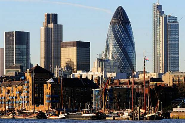 Chaos: the boom has left iconic buildings standing next to less successful designs, it was warned (London Evening Standard)