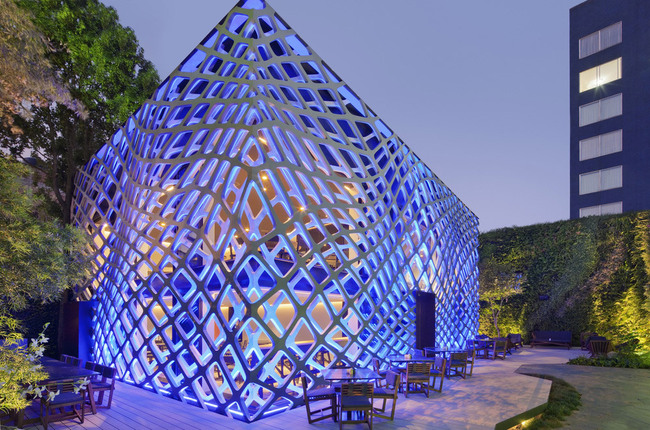People's Choice - Architecture - Commercial under 1,000 sq m: Tori Tori Restaurant by Rojkind Arquitectos
