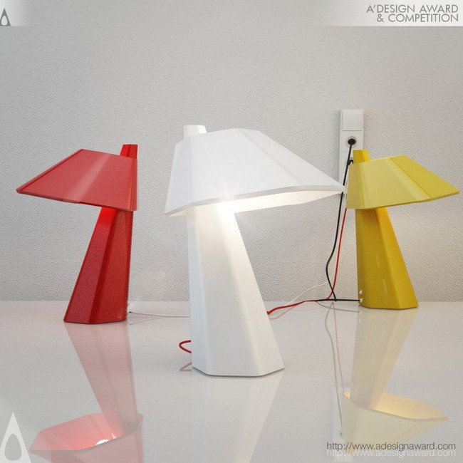 Six Table Lamp by André Gurgel