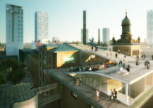 Carlsberg Roofscape by Team Effekt - The must see destination at Carlsberg