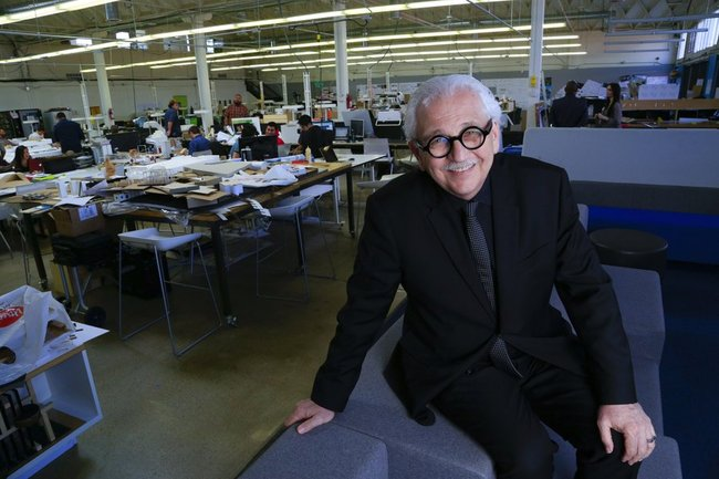 Newschool of Architecture and Design's new President Marvin Malecha. (Photo: Nelvin C. Cepeda; Image via sandiegouniontribune.com)