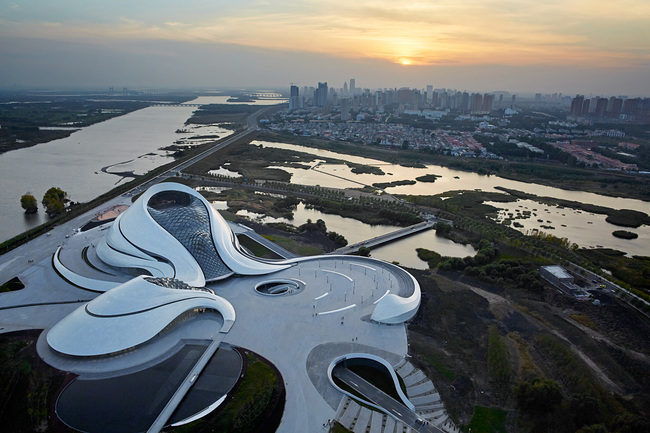 Harbin Opera House by MAD Architects. Photo: Hufton + Crow.