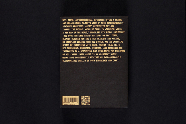 Robert McCarter edited new(ish) publication re: Wiel Arets: Autobiographical References