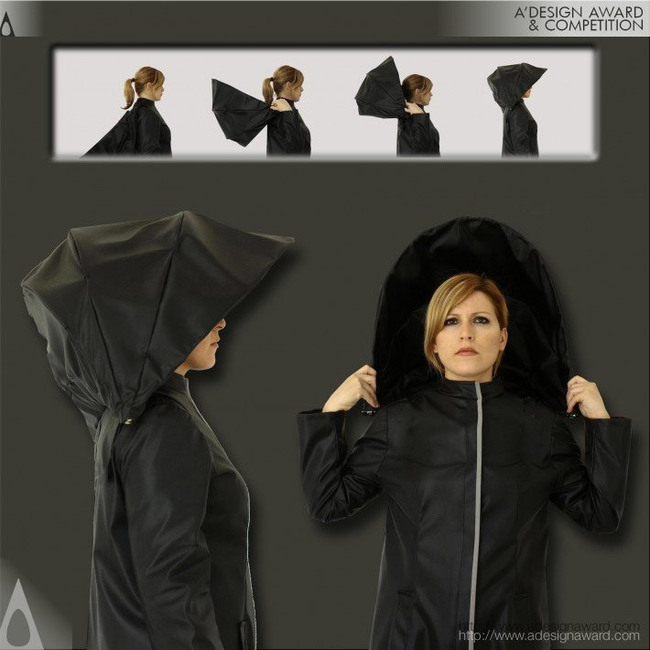 Umbrella Coat Raincoat by Athanasia Leivaditou