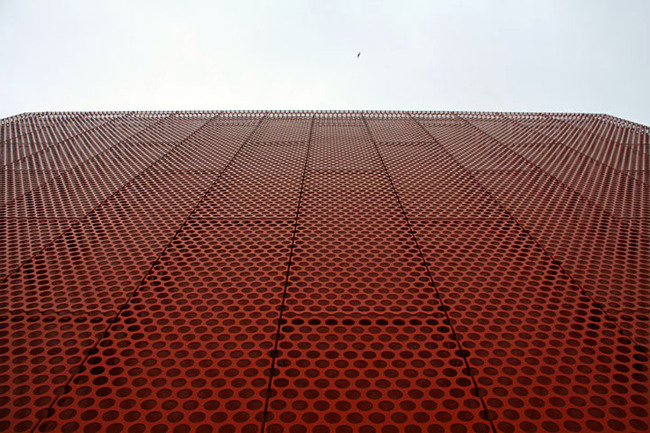 Facade of the Malmö Museum of Contemporary Art