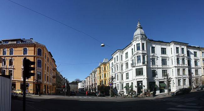 Oslo's upper crust houses