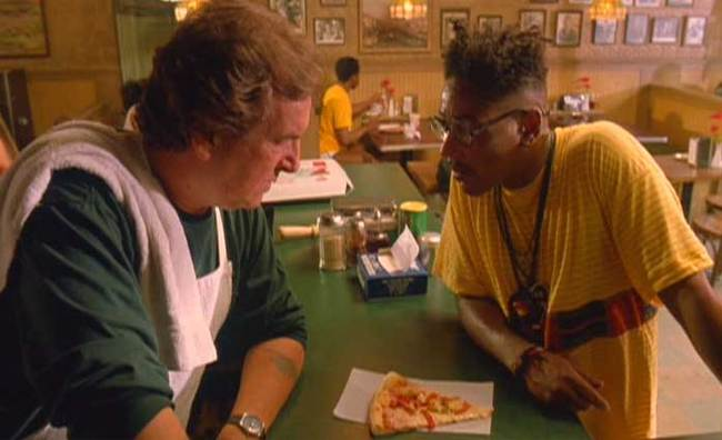 "Scene from Spike Lee's ""Do the Right Thing"". Image via sites.psu.edu."