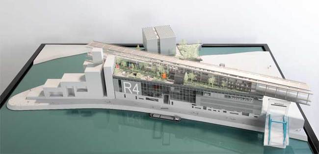 Jean Nouvel's design for the Ile Seguin site. Image via theartnewspaper.com