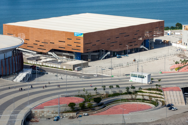 Arena de Futuro (Future Arena), the handball stadium for Rio's 2016 Olympics. Image via Wikipedia.