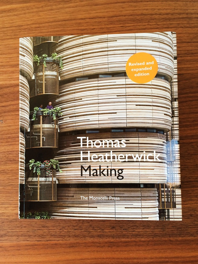 """Thomas Heatherwick: Making"" written by Thomas Heatherwick and Maisie Rowe. Published by The Monacelli Press. Photo: Justine Testado."