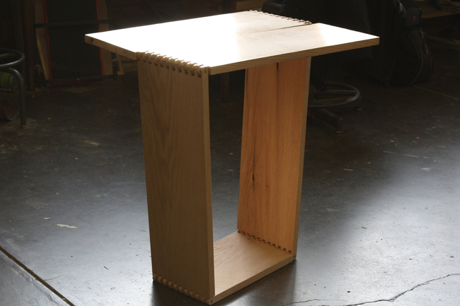 Computer Table Designed by Megan Basnak