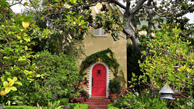 This historic home in Santa Monica hosted a vibrant intellectual community of European emigres. Credit: Los Angeles Times