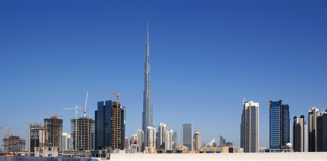 The Burj Khalifa. Image via wikimedia.org