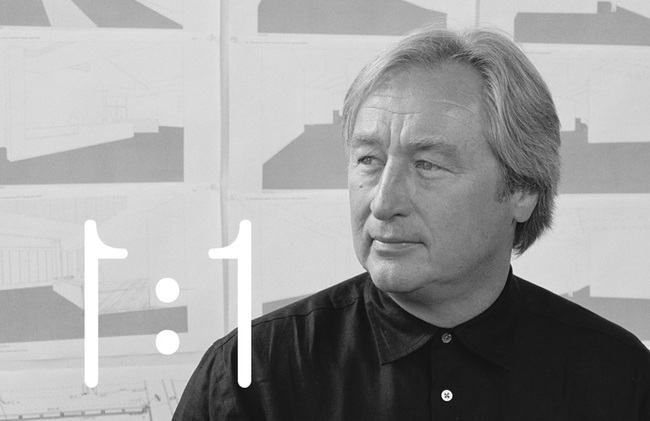 Steven Holl, photo by Mark Heithoff.