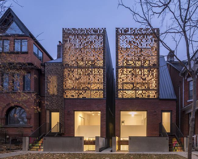 Double Duplex by Batay-Csorba Architects. Photo: Doublespace Photography.