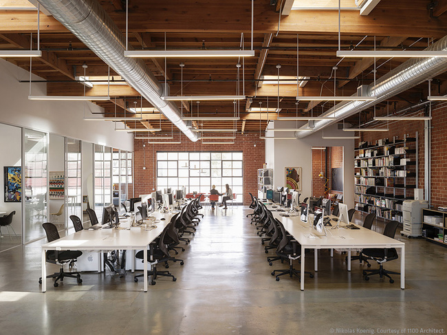 Ten top images on archinect 39 s working spaces pinterest for Los angeles architecture