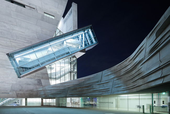 Architecture Merit Award Winner: Perot Museum of Nature and Science in Dallas, TX by Morphosis Architects (Image Credit:  Shu He)