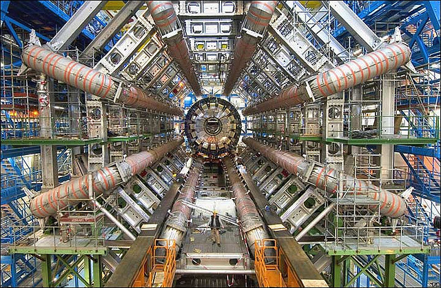 CERN's Large Hadron Collider, the world's largest machine. Image via Wikipedia.