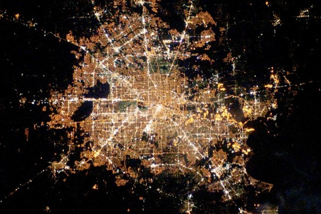 Houston, Texas. Image: NASA