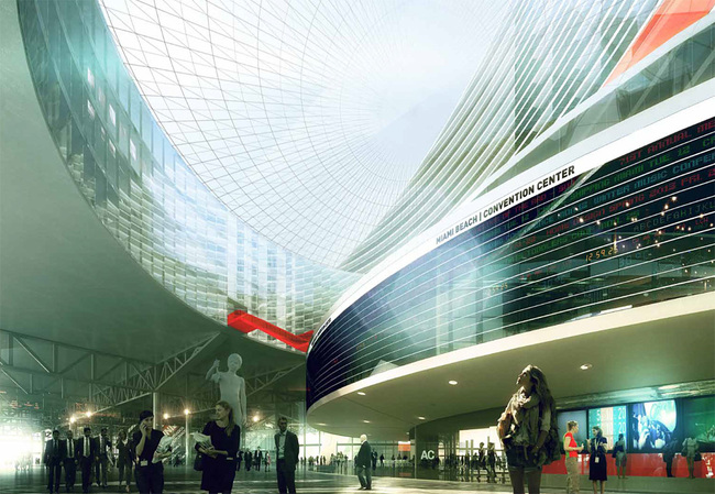 Convention Center Concourse, Image © OMA