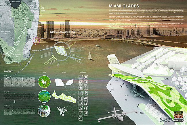 "... from Seoul, South Korea, with its design entitled ""Miami Glades"