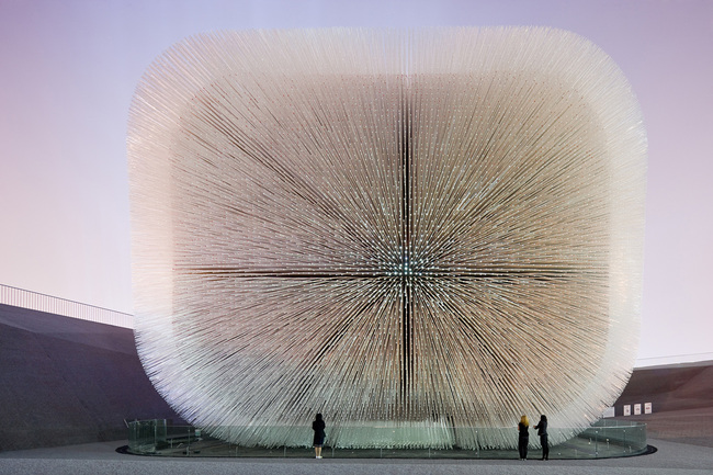 Heatherwick Studio - UK Pavilion, Shanghai World Expo, 2007–10. Photo: Iwan Baan