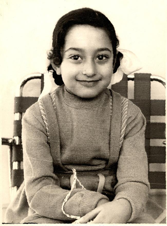 A young Zahah Hadid. Image via Arch2o.com