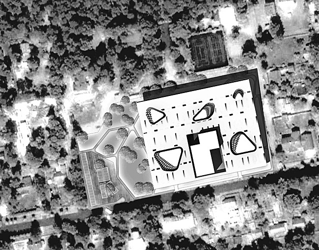 Site plan (Image: PRAUD)