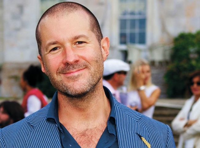 Jony Ive, Apple's Chief Design Officer, via cultofmac.com.