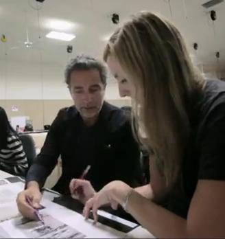 Italian architect and designer Paolo Giachi recently taught an interior design course at NewSchool of Architecture and Design (NSAD) in San Diego