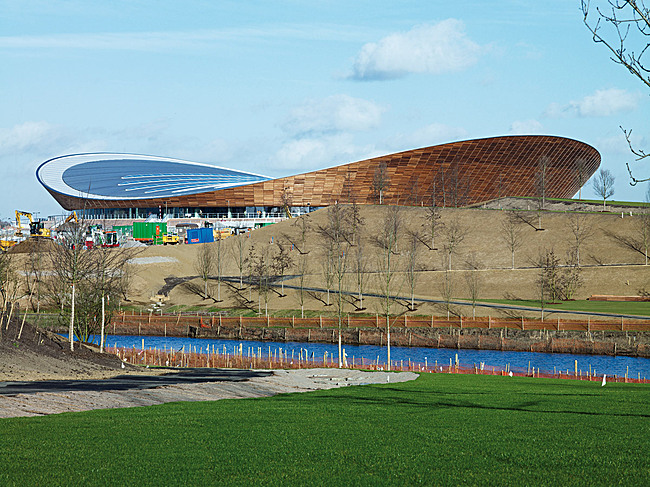 Shortlisted: Olympic Velodrome London 2012, UK by Hopkins (Photo: Richard Davies)