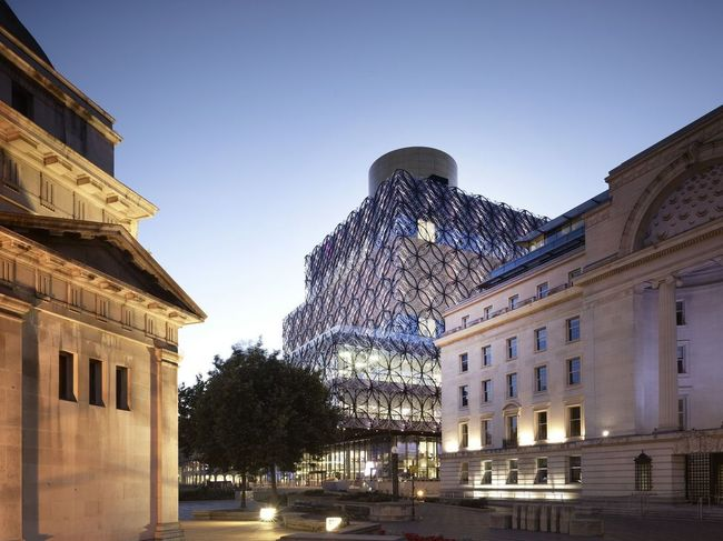 The Library of Birmingham by Mecanoo.