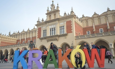 Kraków in Poland was named European Capital of Culture in 2000 – but the title does not always translate into growth. (The Guardian; Photograph: Art Widak/Demotix/Corbis)