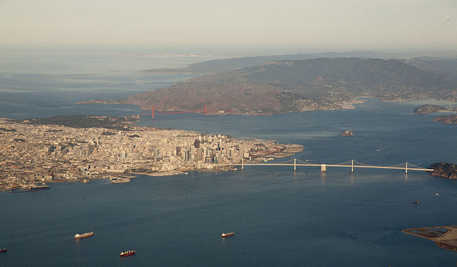 "While San Francisco's steep elevations might make it seem protected from rising sea levels, ""king tides"" reveal just how vulnerable the city's lower stretches remain. Photo: Doc Searls / Wikipedia"