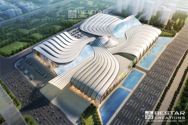 Schematic Design for Wanda Mall, China