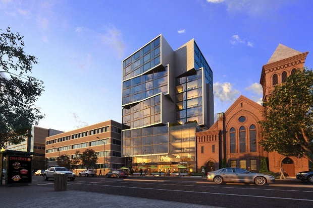 Rendering of the new John and Jill Ker Conway Residence by Sorg Architects. Image via citylab.com