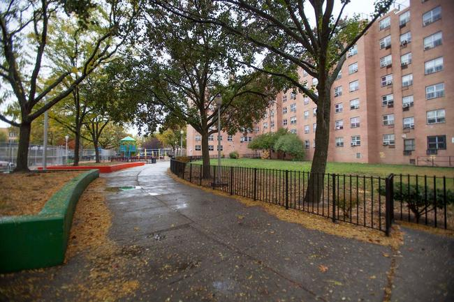 One of the New York City Housing Authority's many affordable housing developments across the five boroughs. Image via the NYCHA's Facebook page.