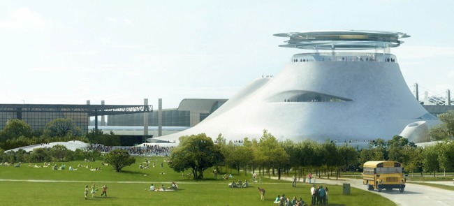 The force is with The Lucas Museum of Narrative Art (image via earhustle 411)