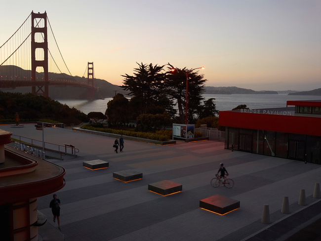 Surfacedesign, Inc.: Golden Gate Bridge Plaza, San Francisco | photo: Marion Brenner