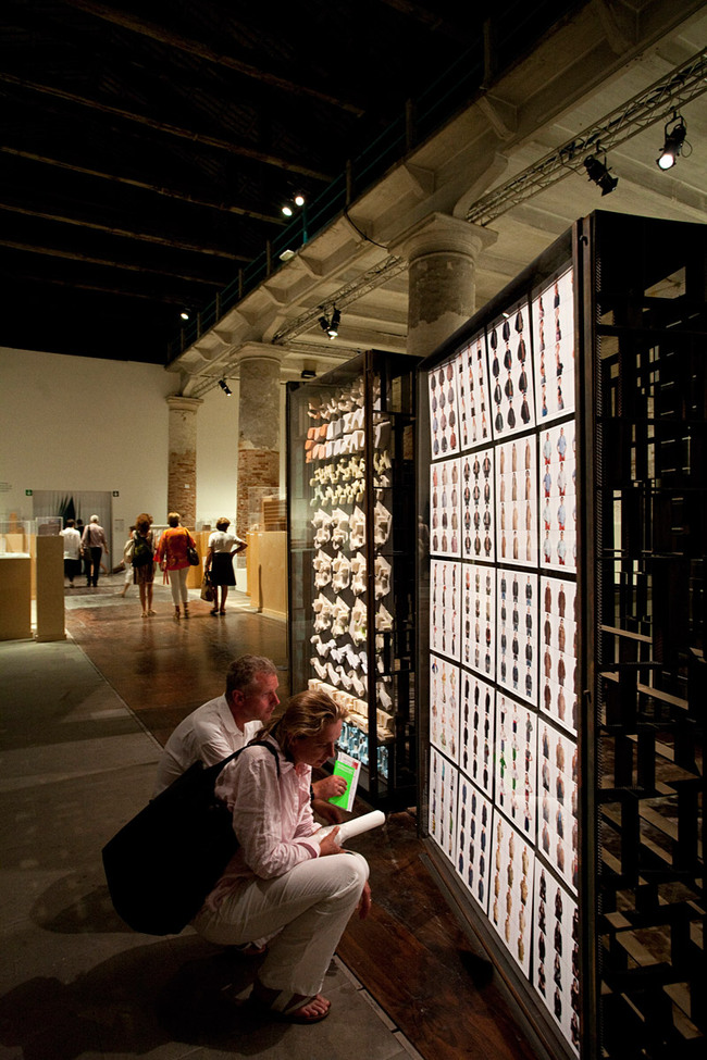 Special Mention: Cino Zucchi Architetti: Copycat. Empatia e invidia come generatori di forma, 2012 (Photo: Francesco Galli)